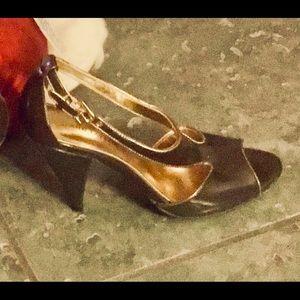 3/$15💥⬇⏬ Ann Taylor Open Toe Heels 👠